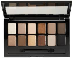 amazon com maybelline new york the eyeshadow palette the