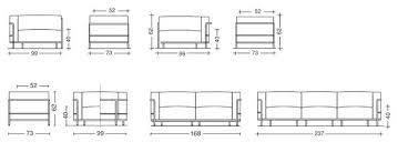 taille canapé dimension canape 3 places 3 e 3 places taille dun canape 3