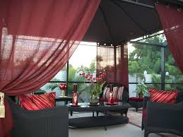Outdoor Gazebo With Curtains Alluring Outdoor Gazebo Curtains And How Curtains Perk Up Your