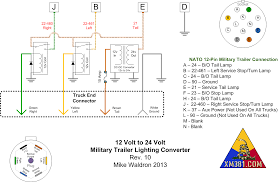 12 pin trailer plug wiring diagram wiring diagram and schematic