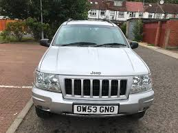 2004 jeep grand cherokee 2 7 crd limited station wagon 4x4 5dr