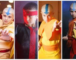 Aang Halloween Costume Aang Costume Etsy