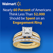 engagement rings ta walmart finds that two months salary isn t a reasonable budget