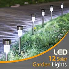 Outdoor Landscaping Lights Sunnest 12pack Solar Lights Outdoor Outdoor Garden