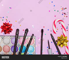 christmas party makeup bright image u0026 photo bigstock