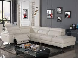 vente unique canapé cuir canapé d angle droit relax électrique sitia cuir blanc prix canapé
