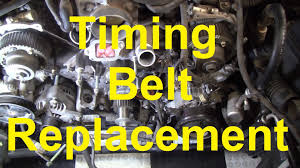 how to change the timing belt in a toyota v8 2uz fe 3uz fe