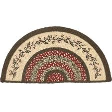 Half Circle Kitchen Rugs Half Circle Rugs Impressive Half Circle Kitchen Rugs Hooked