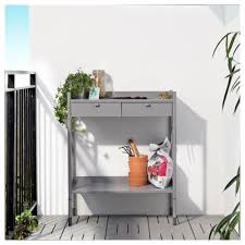 hindö potting bench ikea