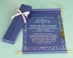 Design Of Marriage Invitation Card Customized Navy Blue Scroll Wedding Invitations Indian Muslim
