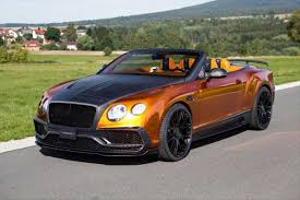 mansory cars bentley continental gt speed convertible gets 1 001 hp from mansory