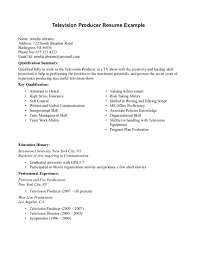 Performance Resume Template Music Producer Resume Examples Resume For Your Job Application