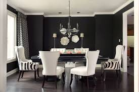 Leather Dining Room Chairs Design Ideas Glorious Black Leather Parson Dining Chairs Decorating Ideas