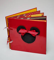 minnie mouse photo album album minnie mouse scrapbook mini albums and journals