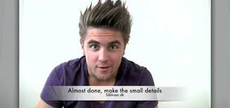 pic of back of spiky hair cuts how to create a spiky textured hair style for men hairstyling