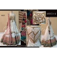 lancha dress buy designer lehengas creme white lancha lehenga with skirt