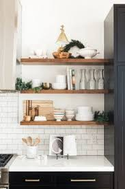 open shelves in kitchen ideas 19 hella cheap ways to your home look more expensive shelves