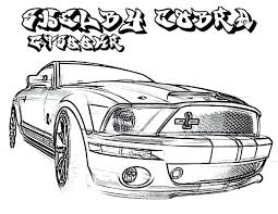 ford mustang coloring pages u2013 vonsurroquen me