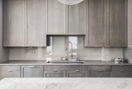 white washed maple kitchen cabinets gray contemporary kitchen