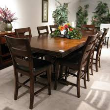 montego counter height table holland house 1268 casual 9 piece dining table and chair set fmg