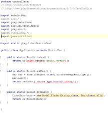 tutorial java play playframework play framework tutorial cannot resolve symbol