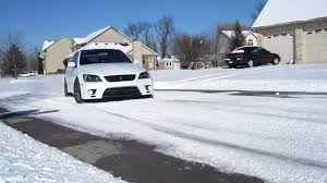 lexus rx 350 ect snow mode is300 meets snow youtube