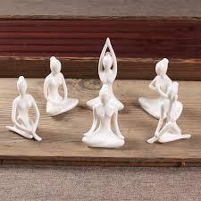 ceramic white figurine ornaments creative abstract sculpture