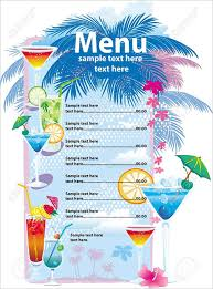 drink menu template free drink menu templates 30 free psd eps documents