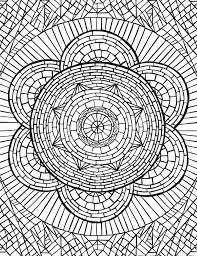 142 best coloring pages images on pinterest mandalas