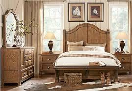 Rustic King Bedroom Set Heartland Falls Rustic Bedroom Furniture Collection