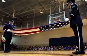 Flag Folding Ceremony Honor Guard Impresses Local Children U003e Shaw Air Force Base