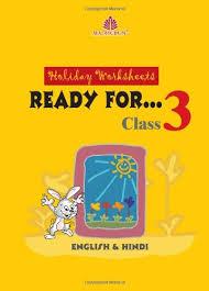 buy holiday worksheet for class iii english u0026 hindi book online