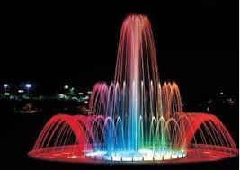 water fountain with lights water fountain with lights libreria fountains