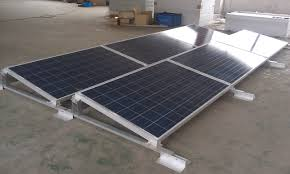 Mounting System Engineer Team Had Delevoped One New Type Ballast Solar Mounting