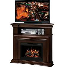dimplex montgomery corner media console electric fireplace free