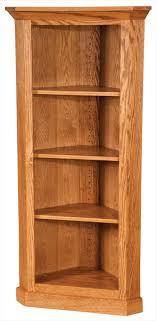 Cherry Corner Bookcase The Size Of This Wonderful Amish Furniture Handmade Prairie