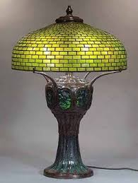 Louis Comfort Tiffany Lamp Clara Driscoll Tiffany Glass Designer Driscoll Designed The