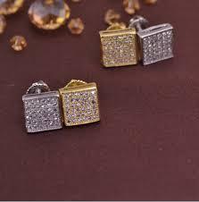 back earrings for men aliexpress buy lse845 men earrings back brass earring