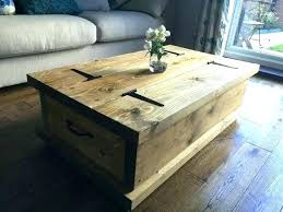 Rustic Square Coffee Table With Storage Square Coffee Tables With Storage Rustic Coffee Table With