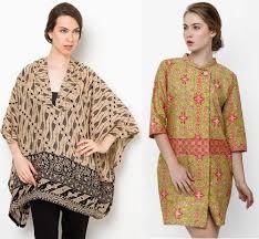desain baju batik untuk acara resmi 20 model baju batik santai untuk wanita elegan terbaru 2018 keren