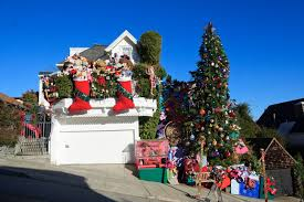 vibrant crazy christmas decorations amazing going with photos wsj