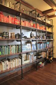Industrial Bookcases Best 25 Industrial Bookshelf Ideas On Pinterest Diy Industrial