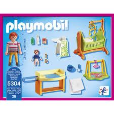 playmobil chambre des parents chambre de bébé playmobil 5304 jouets activités créatives