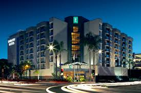 Comfort Inn Near Santa Monica Pier The Embassy Suites Lax At Lax Airport
