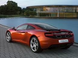 orange mclaren rear mclaren mp4 12c 2011 picture 59 of 133