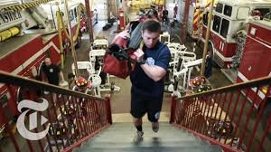 How To Train For Stair Climb by The Firefighter U0027s Workout The New York Times Youtube
