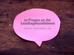L K He Kaufen 20 Fragen An Die Landtagskandidaten Wahlkreis 36