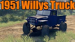 willys jeep truck spin tires 1951 willys jeep truck best crash ever youtube