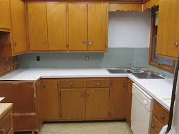 Painted Old Kitchen Cabinets by 5 Ideas To Repaint Rebecca U0027s Faded Wood Kitchen Cabinets Retro