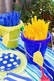 Summer Party Decorations Make A Beach Ball Party Arch Dollar Stores Water Rings And